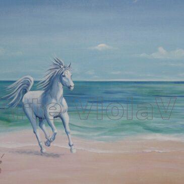 Cavallo Bianco Ritratto