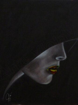 """arte violav opera """"bocca"""" di violetta viola"""