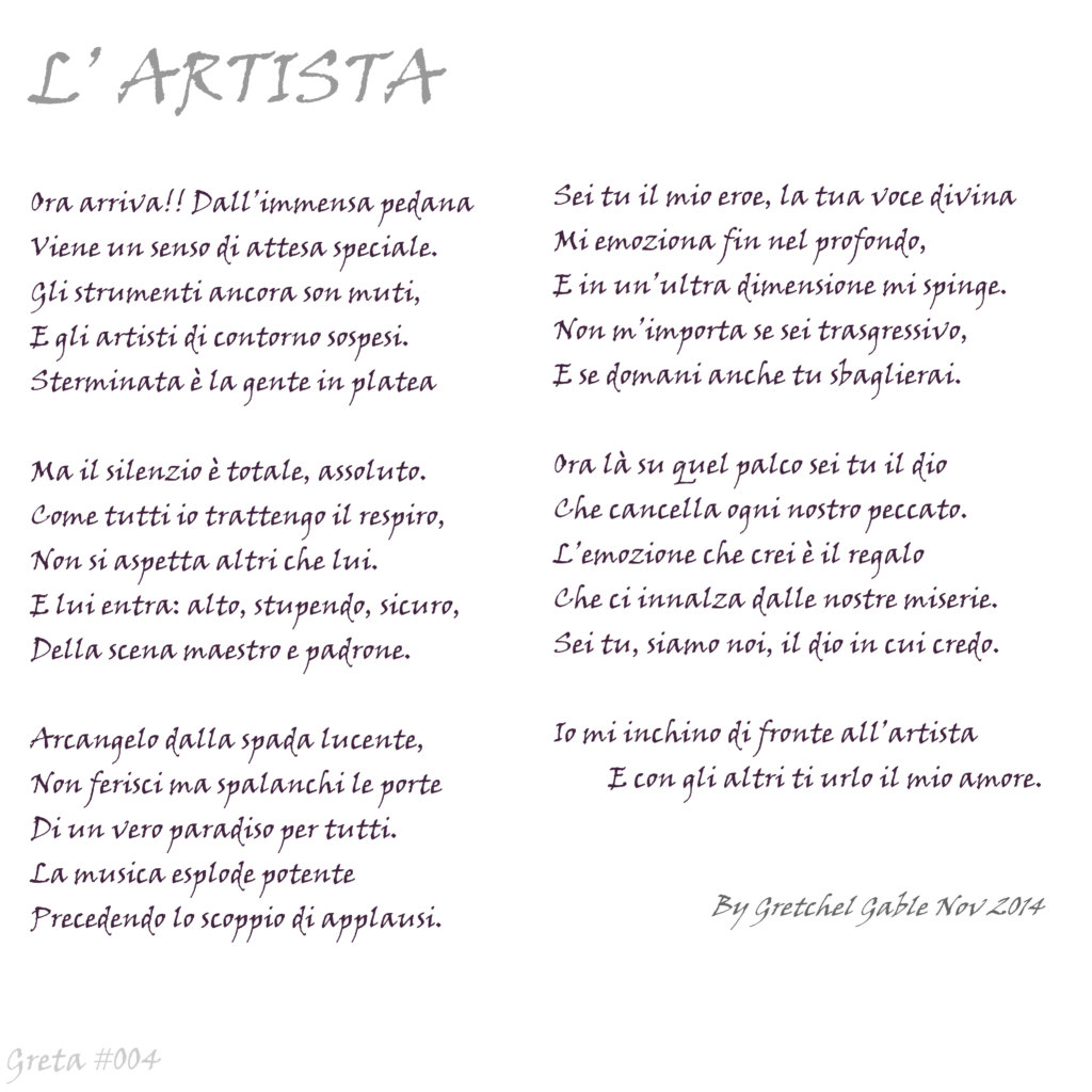 Greta #004 l'artista