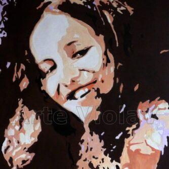 Alice ritratto di Violetta Viola arte ViolaV