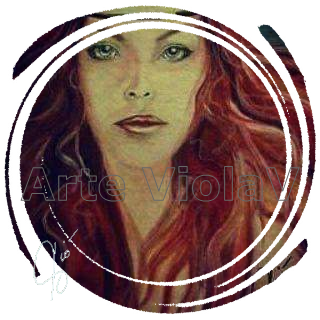 avatar violetta viola un dipinto di Violetta Viola Arte ViolaV