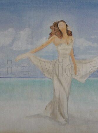 gioia dipinto di Violetta Viola Arte ViolaV