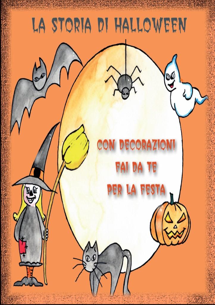 Halloween storia copertina illustrato da Violetta Viola Arte ViolaV