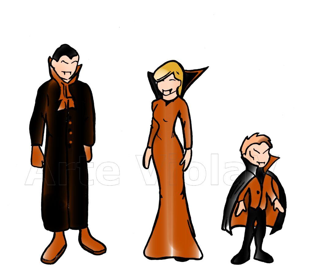 Illustrazioni-vampiri-arte-violav-di-Violetta-Viola